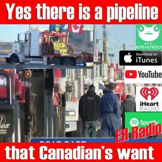 Morning moment Pipeline protest Alberta Jan 8 2019