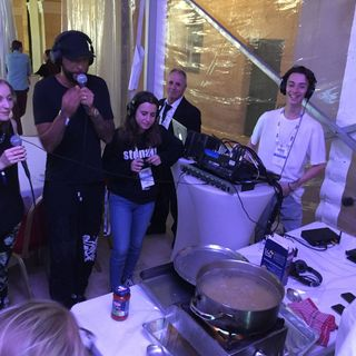 #IRFMalta2018 International Radio Festival Cooking pasta with the BBC