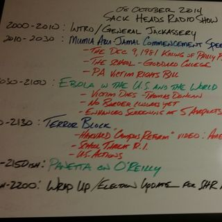 Sack Heads Radio 10-8-14