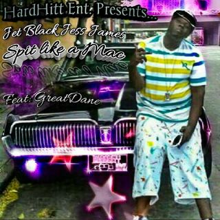 "The Hardhitt Ent Show Ep.1 #NowPlaying ""Spit Like A Mac"" (Greatdane Feat. Jet Black Jess James)"