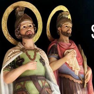 Santos Emeterio y Celedonio, mártires