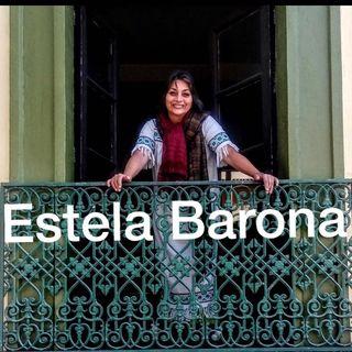 En entrevista la cantante ESTELA BARONA