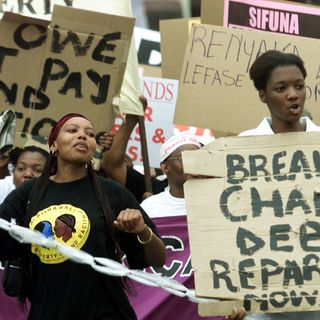 Reparations To Fix Racism? +