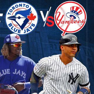 Yankees a enfrentar la serie mas dura del 2020 contra los Blue Jays