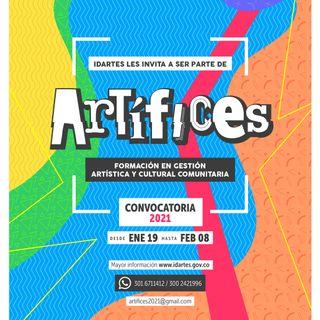 Artífices: formación en gestión artística y cultural comunitaria