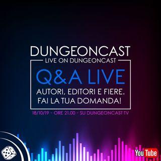 Dungeoncast - Q&A Autori, editori e fiere (con Mario Cortese)