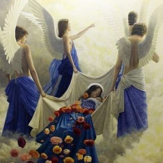 Fly with Wings of Angels