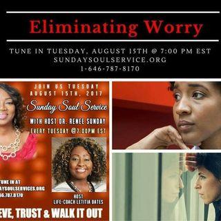 Eliminating Worry on Sunday Soul Service Host Life Coach Letitia Bates