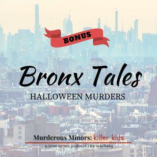 Bonus: Bronx Tales- Halloween Murders (Curtis Sterling; Jeffrey Ivey/Erik Fuller)