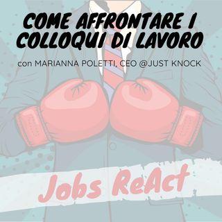 JR 15 | Come affrontare i colloqui di lavoro - con Marianna Poletti