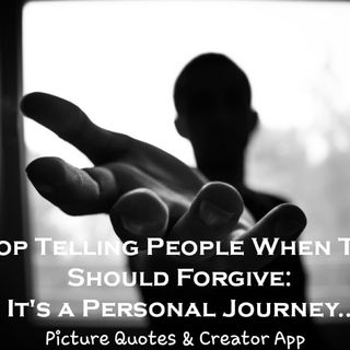 S2 Ep3 - Stop Telling People When They Should Forgive