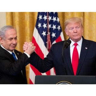 Middle East Peace Plan ~ Trump Unveils Map of Proposed State of Palestine