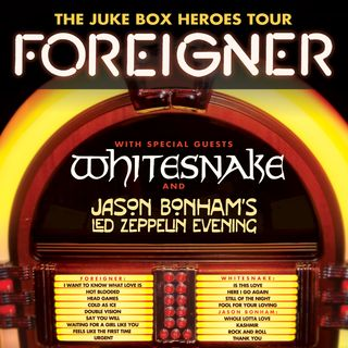 Kelly Hansen Foreigners Juke Box Heroes Tour 2018