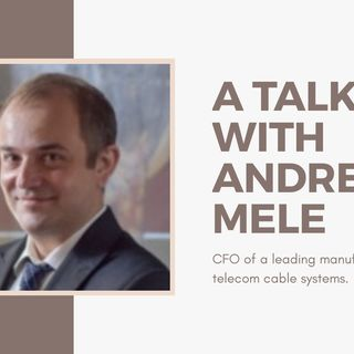 [ HTJ Podcast ] Interview with Andrea - CEO of A Leading Manufacturer of Telecom Cable System.