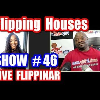 Flipping Houses | Live Show #46 Flippinar: House Flipping With No Cash or Credit 03-15-18