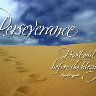 March 28, 2020-Saturday 4th Sunday of Lent: Perseverance