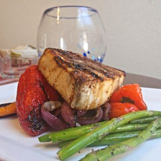 Grilled Pacific Swordfish - Chef Ivan Flowers on Big Blend Radio