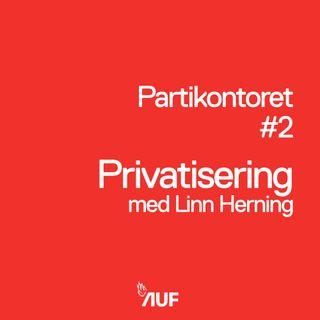 Podkast #2 - Privatisering med Linn Herning