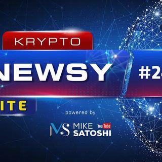 Krypto Newsy Lite #245 | 25.06.2021 | Bitcoin spadnie do $23k, aby urosnąć do $140k - JPMorgan, NFT Krzysztofa Gonciarza na Binance