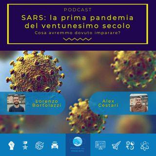 SARS: la prima pandemia del ventunesimo secolo