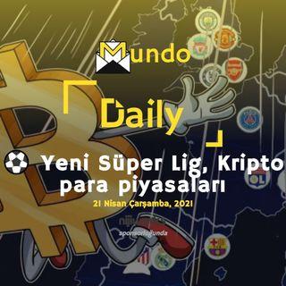 ⚽ Yeni Süper Lig, Kripto para piyasaları