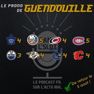 Playoffs NHL 2020 - Les pronos de Guendouille (Tour de qualification)