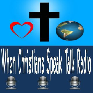 When Christians Speak Talk Radio : Don't Be Moved From What You See