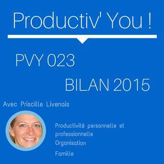 PVY EP023 BILAN PODCAST 2015