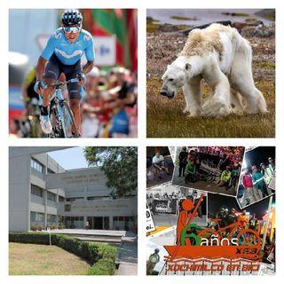 Clínica del Sueño UNAM, Mazapán, Periodista Asesinado, Osos Polares en Rusia, Tour Colombia 2.1, XEB 6to Aniversario.