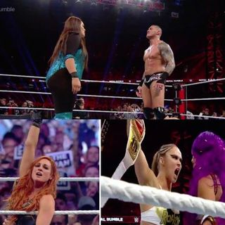 Royal Rumble Recap \ Halftime Heat is Back