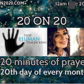 Live Prayer show for the children, families and 20 on 20 prayer warriors with Jacklyn Conrad