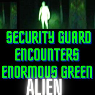 Security Guard Encounters Enormous Green Alien TRUE STORY