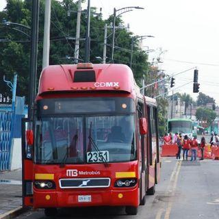 Metrobús inicia pruebas operativas