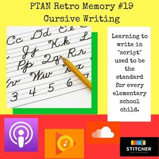Retro Memory #19 - Cursive Writing