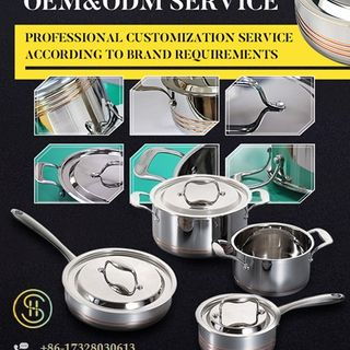 All Clad Stainless Steel Cookware Set