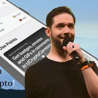 Alexis Ohanian- Bitcoin Bull Boosting Blockchain