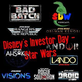 Disney's Investor Day - Star Wars