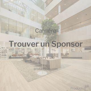 Trouver un Sponsor - PVY Carrière