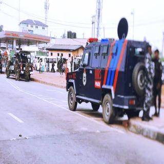 LAGOS RALLY: Police Deny Shooting Hawker In Ojota
