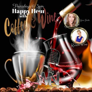 Happy Hour with Coffee and Wine