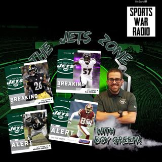 The Jets Zone: Free Agency Frenzy, Benjamin Allbright, Le'Veon Bell