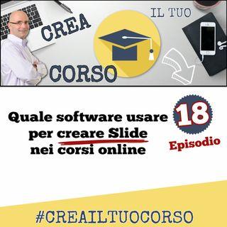 #18: Quale software usare per creare Slide nei corsi online
