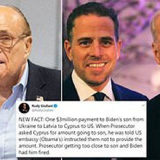 RUDY GIULIANI AND UKRAINE SMOKING GUN: Docs from Latvia PROVES Hunter Biden & Burisma Corruption