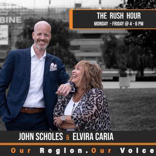 The Rush Hour - Sept 10, 2020 - America's Got Talent Finalist Roberta Battaglia, The Canadian Music Scene & Tourist Turbulence