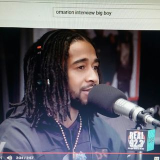 Omarion Interview On Big Boy Tv!!! Omarion Is Clearly Bothered!!!