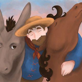 Il cavallo e l'asino