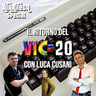 Ep.29 - Speciale dal VIC-20 al THEVIC20 con Luca Cusani di Pianeta Commodore