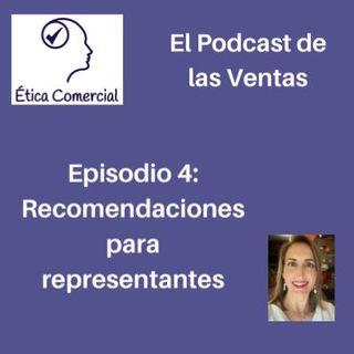 Episodio 4: Recomendaciones para representantes