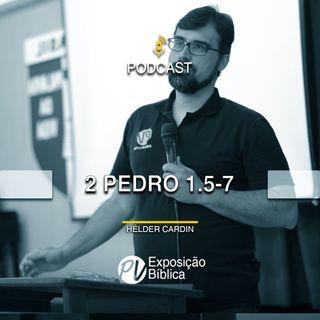 2 Pedro 1.5-7 - Helder Cardin