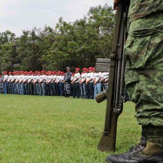 Mesa de debate-Guardia Nacional